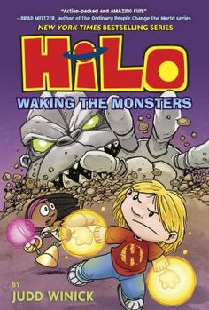 Hilo and his friends learn more about Hilo's past while they battle robots that were buried underground on Earth a thousand years ago.