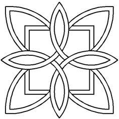 Quilt Stencil Celtic Design By Siedlecki, Barbara  - 7in