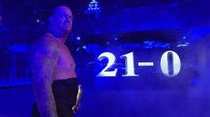 The Undertaker 21-0 at WrestleMania #WWE