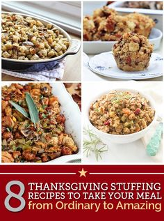 8 Thanksgiving Stuffing Recipes to Take Your Meal from Ordinary to Amazing | thegoodstuff