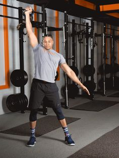 5. Windmill #kettlebell #workout http://greatist.com/move/kettlebell-workout-exercises-to-build-total-body-strength