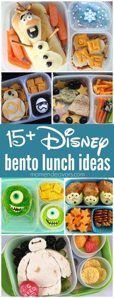 15+ Disney Bento Lun