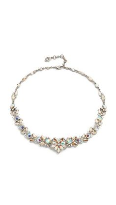 Ben-Amun Iridescent Statement Necklace