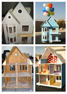 DiY dollhouse Looks just like the one I had growing up!