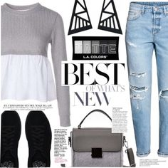 #PolyPresents: Wish List by tasnime-ben on Polyvore featuring polyvore, fashion, style, H&M, Puma, Anja and clothing