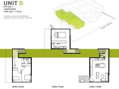 Centre Village is a group of 25 affordable micro apartments in Winnipeg, Canada designed by 5468796 architecture.