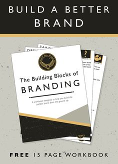 "Developing a brand might seem like a huge undertaking but with the help of the ""Building Blocks of Branding"" you will have the knowledge, confidence and most of all a tool to reference whenever you need it. Understanding the 5 crucial building blocks in building a brand will set you up for success no matter what stage you are in with your business. Build your brand from the ground up with a strong foundation and work your way into each block. Learn the weight of each block and why it's…"