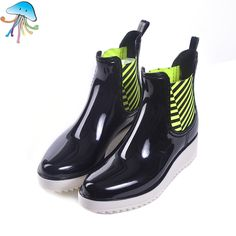 2016 Women's Non Slip Martin Short Ankle Rain Boots Comfortable Soft Walking Waterproof Rainshoes for Lady Botas Lluvia Mujer♦️ SMS - F A S H I O N 💢👉🏿 http://www.sms.hr/products/2016-womens-non-slip-martin-short-ankle-rain-boots-comfortable-soft-walking-waterproof-rainshoes-for-lady-botas-lluvia-mujer/ US $23.40