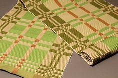 Rep Weave Mat/手織り/マット/textile/テキスタイル