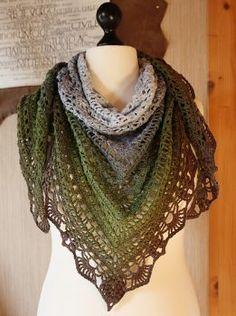 Haakpatroon Quiraing Sjaal - Een gratis Nederlands haakpatroon van een prachtige sjaal. Wil jij deze sjaal ook haken? Lees dan verder over het patroon.
