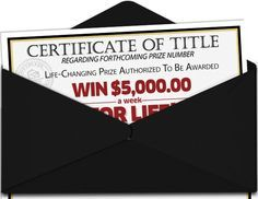 certificate of title regarding forthcoming prize number life changing prize authorized to be awarded a week for life - PIPicStats Instant Win Sweepstakes, Online Sweepstakes, Win For Life, Hurtado, Publisher Clearing House, Winning Numbers, Win Prizes, Game Prizes, Enter To Win