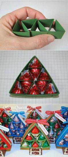 Make some fun reeses christmas treesfun christmas gift ideas
