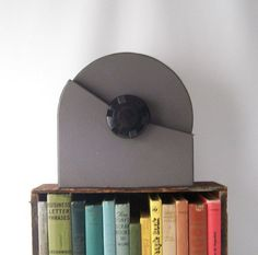 vintage rolodex zephyr industrial steel file box by RecycleBuyVintage, $28.00