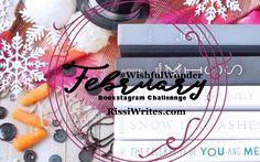 #WishfulWonder | February 2017 Bookstagram Challenge. Join us!