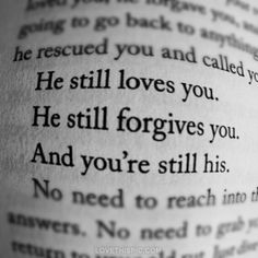 He Still Loves You quotes religious religious quote religious quotes God