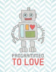 ROBOT ~ T and L Feb page add a big U~