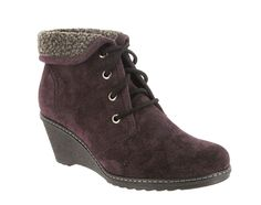 Cotswold Batsford Ladies Waterproof Wedge Heeled Lace Up Ankle Boot - Robin Elt Shoes  http://www.robineltshoes.co.uk/store/search/brand/Cotswold-Ladies/ #Autumn #Winter #Boots #Shoes