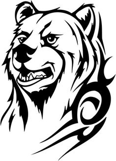 Bear Tattoo Designs Tattoos Tribal Bear Bear Tattoo Ideas Tribal ...