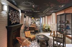 The Mama Shelter Hotel now is welcoming guests with open arms in Hollywood.