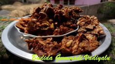 Budidha Gummadikaya Vadiyalu బూడిద గుమ్మడి వడియాలు In Telugu - YouTube