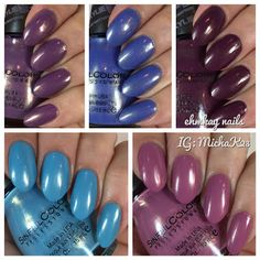 ehmkay nails: Sinful Colors Kylie Jenner: Trend Matters Velvety Demi-Mattes Partial Review