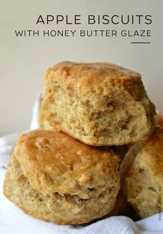 Apple Recipes, Fall Recipes, Brunch Recipes, Sweet Recipes, Dessert Recipes, Cupcakes, Yummy Food, Tasty, Honey Butter