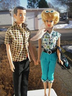 .This is what my Barbie Looked like in the 50's!
