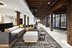 Breakout space and lounge from West Elm Headquarters – New York City