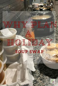 Why Plan a Holiday Soup Swap! #ProjectEnvolve #AD