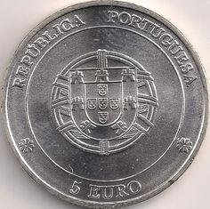 Wertseite: Münze-Europa-Südeuropa-Portugal-Euro-5.00-2005-Angra do Heroísmo
