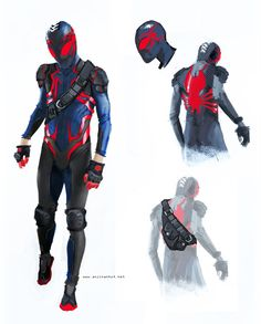 Spider-Man redesign --- Not sure if I like it or not but it does get the wheels turning ---                                                                                                                                                     More