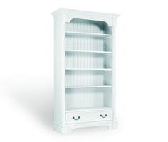 Boekenkast met lade afmeting H 200 cm x B 112 cm x D 44 cm - Inndoors Meubelen en Interieur