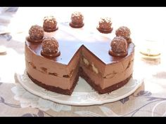 Nutella cheesecake    Le ricette di DELIZIEePASTICCi - YouTube