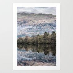 Lake reflection - Print.