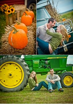 Adorbs Halloween engagement shoot at a pumpkin patch by Photography by Verdi