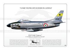 """F-86K """"Kappone"""" 5-52 AM JP-602"""