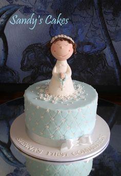 First communion cake / Sandy's Cakes