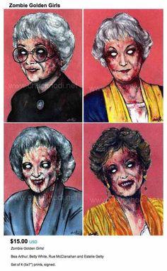zombie golden girls