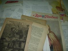 Items similar to OOAK-Original Vintage Ephemera from past centuries-past times - big pack of paper supplies for mixed media art,scrapbooking,art journaling on Etsy Vintage Ephemera, Art Journaling, Mixed Media Art, Art Supplies, Arts And Crafts, Craft Ideas, Times, The Originals, My Love