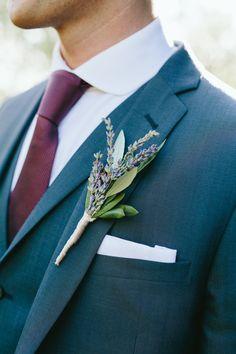 #boutonniere  Photography: Matteo Crescentini  - www.matteocrescentini.it/  Read More: http://www.stylemepretty.com/destination-weddings/2014/12/11/rustic-tuscan-fall-wedding/
