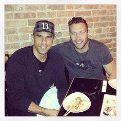 Dinner at Sunda with my bud Jai Courtney - Jack Reacher, Die Hard, Divergent....this guy is blowing up!