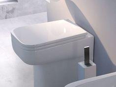 Polyester toilet seat Como Line by CERAMICA FLAMINIA | design Rodolfo Dordoni