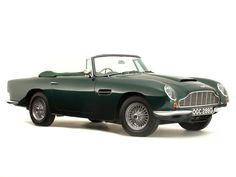 Aston Martin Volante RHD '1965–66 Aston Martin Volante, Aston Martin Db6, Super Cars, Classic Cars, British, Vintage Classic Cars, Classic Trucks