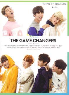 BTS at ASTA TV MAGAZINE September Issue