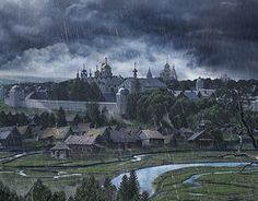 """Check out new work on my @Behance portfolio: """"Storm"""" http://be.net/gallery/57371925/Storm"""