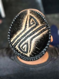Cornrow Hairstyles For Men, Braided Hairstyles For Black Women, Black Girl Braids, Braids For Black Hair, Braid Styles For Men, Braid Designs For Men, Curly Hair Styles, Natural Hair Styles, African Hairstyles