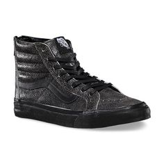 cb7634cc3b Vans Crackle Suede SK8-Hi Slim Zip Vans Off The Wall