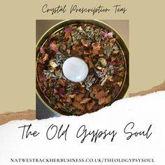 Selentite Crystal Infused Tea  Sage Tea Blend