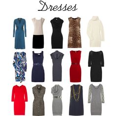 Dresses - additional for the basic wardrobe by lana2404 on Polyvore featuring Temperley London, Crumpet, Antik Batik, Joseph, Dolce&Gabbana, Burberry, Issa, Richard Nicoll, Oasis and Splendid