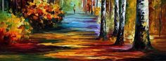 Autumnal and Colorful Oil Paintings – Fubiz Media